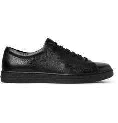 Prada Full-Grain Leather Sneakers