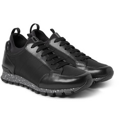 Prada - Leather and Nylon Sneakers