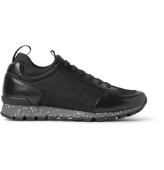 Prada Leather and Nylon Sneakers