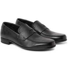 Prada - Saffiano Leather Penny Loafers