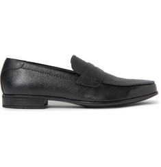 Prada Saffiano Leather Penny Loafers