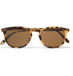 Garrett Leight California Optical Kinney 49 D-Frame Tortoiseshell Acetate Sunglasses