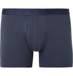 Derek Rose - Jack Stretch-Pima Cotton Boxer Briefs