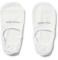 Marcoliani - Invisible Touch Pima Cotton-Blend No-Show Socks