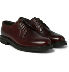Brunello Cucinelli Cordovan Leather Derby Shoes
