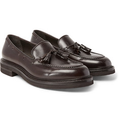 Brunello Cucinelli - Leather Tasselled Loafers