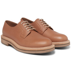 Brunello Cucinelli - Leather Derby Shoes