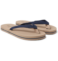 Brunello Cucinelli - Cotton-Canvas Flip Flops