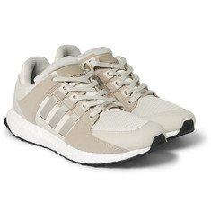 adidas Originals - EQT Support Ultra Rubber, Faux Suede and Mesh Sneakers