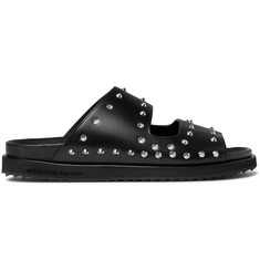 Alexander McQueen Studded Leather Slides