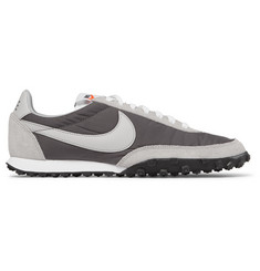 Nike Waffle Racer Shell, Suede and Leather Sneakers