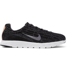 Nike Mayfly Premium Leather-Trimmed Suede Sneakers
