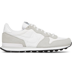 Nike Internationalist Suede, Leather and Ripstop Sneakers