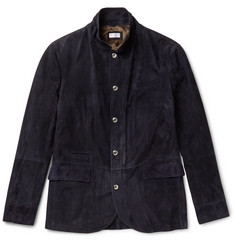 Brunello Cucinelli Slim-Fit Suede Jacket