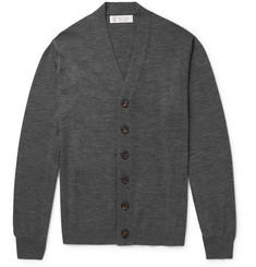 Brunello Cucinelli - Virgin Wool and Cashmere-Blend Cardigan