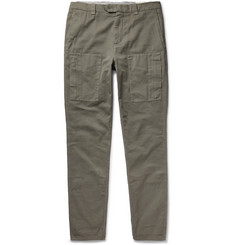 Brunello Cucinelli Slim-Fit Cotton Cargo Trousers