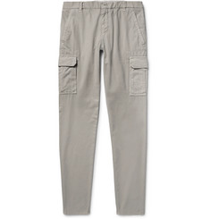 Brunello Cucinelli Cotton-Twill Cargo Trousers