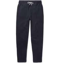 Brunello Cucinelli - Slim-Fit Cotton-Blend Jersey Sweatpants