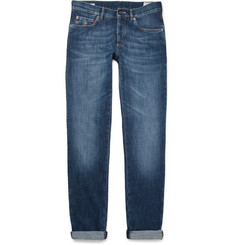 Brunello Cucinelli Slim-Fit Washed-Denim Jeans
