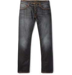 Nudie Jeans Dude Dan Slim-Fit Organic Denim Jeans
