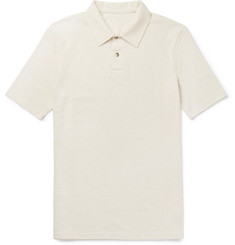 Private White V.C. Cotton-Piqué Polo Shirt