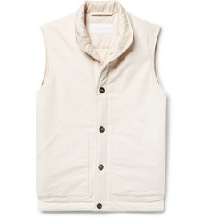 Private White V.C. Cotton and Cashmere-Blend Moleskin Gilet