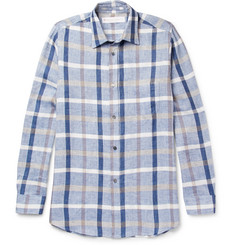 Private White V.C. Checked Linen and Cotton-Blend Shirt