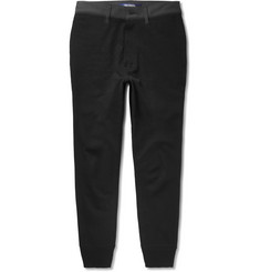 Junya Watanabe Slim-Fit Tapered Jersey Trousers