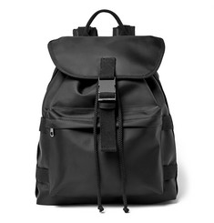 A.P.C. Sylvain Canvas-Trimmed Shell Backpack