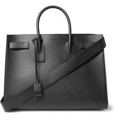 Saint Laurent Sac De Jour Large Grained-Leather Tote Bag