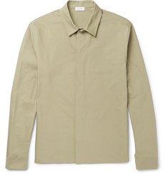 Jil Sander Stretch-Cotton Canvas Shirt