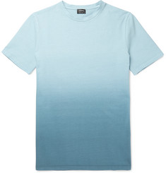 Jil Sander Dégradé Cotton-Jersey T-Shirt