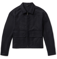 Jil Sander Stretch-Cotton Canvas Jacket
