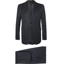 Jil Sander Blue Slim-Fit Cotton-Gabardine Suit