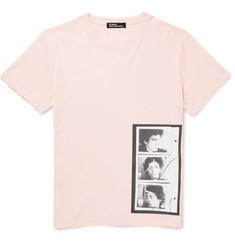 Raf Simons + Robert Mapplethorpe Foundation Printed Cotton-Jersey T-Shirt
