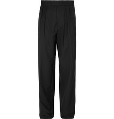 Raf Simons Wide-Leg Pleated Wool Trousers
