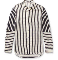 McQ Alexander McQueen - Striped Satin Shirt