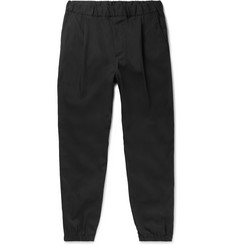 McQ Alexander McQueen Slim-Fit Tapered Cotton-Blend Twill Trousers