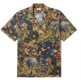 Dries Van Noten - Camp-Collar Printed Cotton Shirt