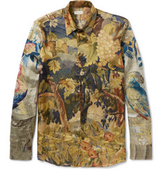 Dries Van Noten - Slim-Fit Printed Satin Shirt