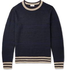 Dries Van Noten Jacquard-Knit Cashmere-Blend Sweater