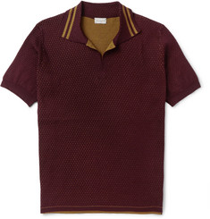 Dries Van Noten Slim-Fit Double-Faced Cotton Polo Shirt