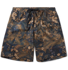 Dries Van Noten - Long-Length Printed Swim Shorts