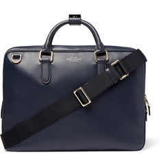 Smythson Burlington Grained-Leather Briefcase