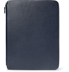 Smythson - Burlington A4 Full-Grain Leather Writing Folder