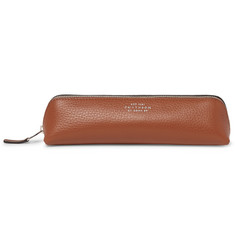 Smythson - Burlington Full-Grain Leather Pencil Case