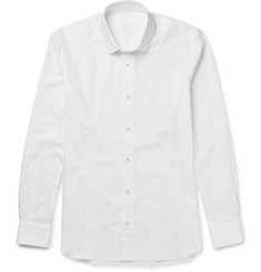 Caruso Slim-Fit Penny-Collar Cotton Shirt