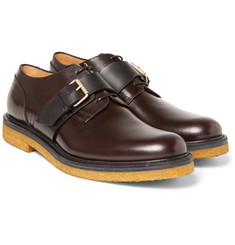 Dries Van Noten - Leather Monk-Strap Shoes