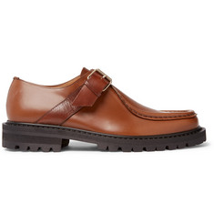 Dries Van Noten Leather Monk-Strap Shoes
