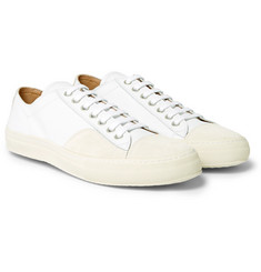 Dries Van Noten - Cap-Toe Suede and Leather Sneakers